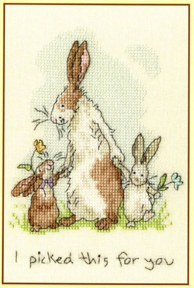 I Picked This For You (Counted Cross Stitch Kit)