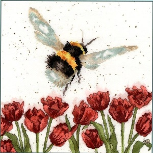 Flight of The Bumble Bee (Counted Cross Stitch Kit)