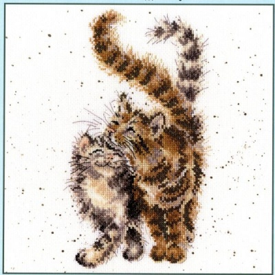 Feline Good (Counted Cross Stitch Kit)