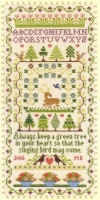 Green Tree (Counted Cross Stitch kit)