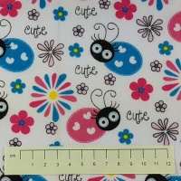 Fabric by the Metre - 7781 Ladybirds