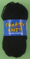 Loweth - Crafty Knit DK - 381 Black