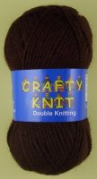 Loweth - Crafty Knit DK - 384 Brown