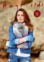 Knitting Pattern - Hayfield 8249 - Spirit Chunky - Woman's Wrist Warmers and Scarf