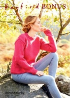 Knitting Pattern - Hayfield 8291 - Bonus Chunky - Sweater