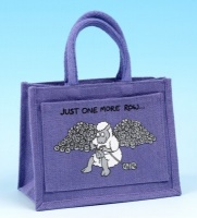 Project Bag - Just One More Row - Lilac