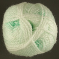 James C Brett - Baby Marble DK - BM12 Pale Green/White Mix