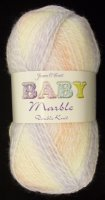 James C Brett - Baby Marble DK - BM08 Lilac/Peach/Cream Mix
