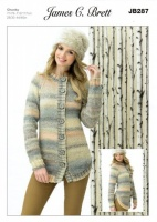 Knitting Pattern - James C Brett JB287 - Marble Chunky - Jacket