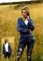 Knitting Pattern - James C Brett JB546 - Mojo Magic Chunky - Jacket