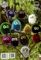 Knitting Pattern - King Cole 9022 - Chunky -Owls