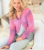 Knitting Pattern - Rico 142 - Reflection - Ladies Cardigans
