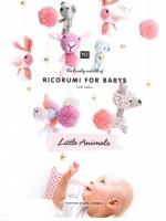 Ricorumi Little Animals for Babies - 6 Teething Rings and Mobile
