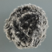 Sirdar - Alpine - Super Chunky Fur - 403 Brindle