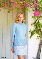 Knitting Pattern - Sirdar 8049 - No1 DK - Sweater
