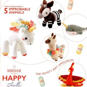 Happy Chenille Book 3 - Improbable Animals