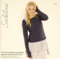Knitting Patterns - Sublime 681 - The First Sublime Superfine Alpaca DK Hand Knit Book