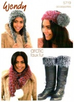 Knitting Pattern - Wendy 5719 - Arctic - Accessories