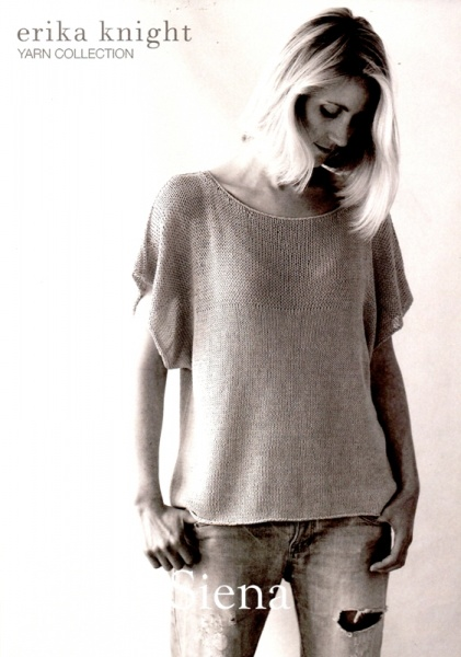 444b914e4 Cottontail Crafts - Erika Knight Knitting Pattern - Siena - Short ...