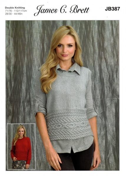 e4ec01322ada0 Cottontail Crafts - James C Brett Knitting Pattern JB387