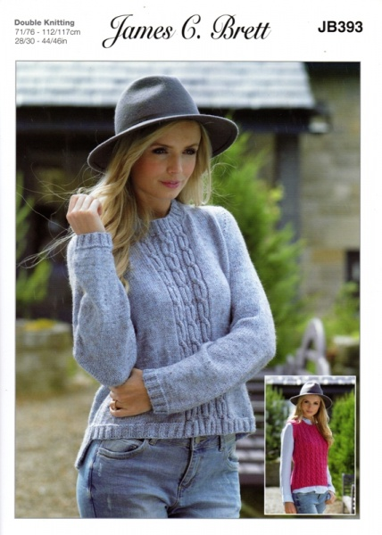91ddb0d7003d Cottontail Crafts - James C Brett Knitting Pattern JB393