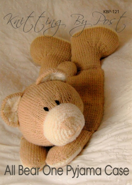 c185f270bd7a Cottontail Crafts - All Bear One Pyjama Case Knitted Toy by Knitting ...