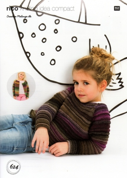 970a88cd0c0 Cottontail Crafts - Knitting Pattern 624 - Child s Sweater and ...