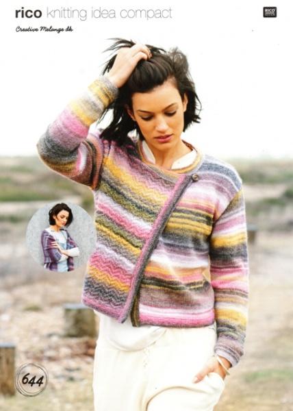 407b96157b0 Cottontail Crafts - Knitting Pattern 644 - Ladies Jacket and Shawl ...