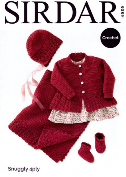 026cef8be6ff Cottontail Crafts - Knitting Pattern 4939 - Coat