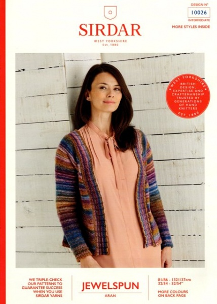 Sirdar 7307 Knitting Pattern Womens Top and Cardigan in Sirdar Cotton 4 Ply