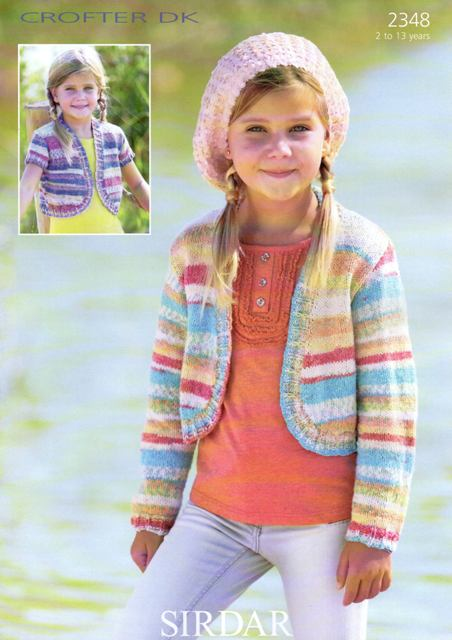 d8d9be0b7 Cottontail Crafts - Sirdar Knitting Pattern - 2348 - Cardigans ...