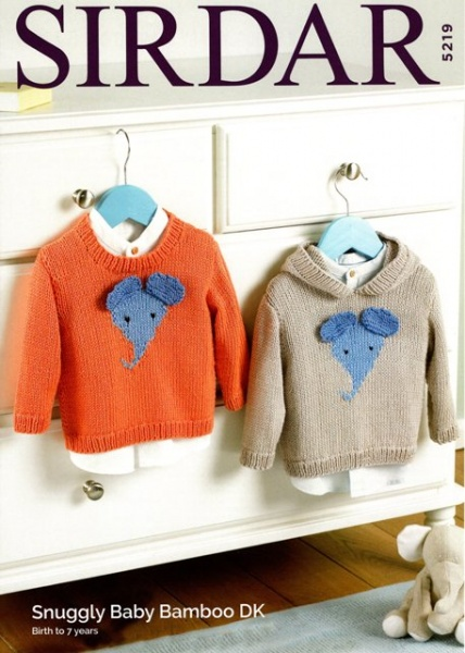 7a82e714f Cottontail Crafts - Sirdar Knitting Pattern 5219 - Sweaters in ...