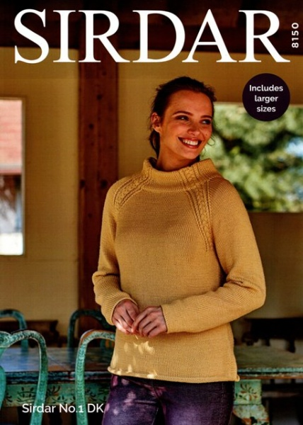 8d0257fd5383 Cottontail Crafts - Sirdar Knitting Pattern 8150