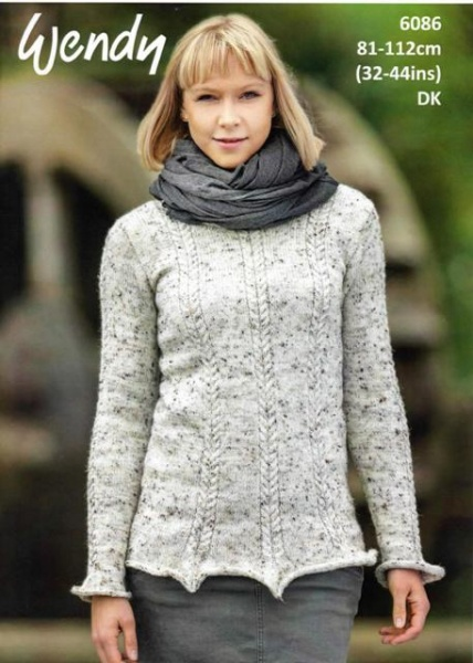 dc6043668 Cottontail Crafts - Wendy Knitting Pattern 6086