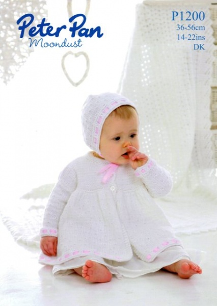 2118f30d9000 Cottontail Crafts - Knitting Pattern - Peter Pan P1200 - Coat ...
