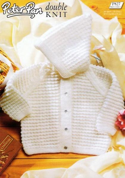 Cottontail Crafts Knitting Pattern Peter Pan P846 Round V