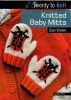 Twenty to Knit - Knitted Baby Mitts