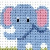 Elephant - Counted Cross Stitch Kit