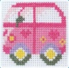 Camper Van - Counted Cross Stitch kit