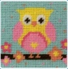 Owl - Needlepoint Tapestry kit