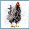 Curious Hen (Counted Cross Stitch Kit)