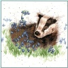 Bluebell Wood (Counted Cross Stitch Kit)