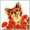 Poppy Field (Counted Cross Stitch Kit)