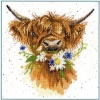 Daisy Coo (Counted Cross Stitch Kit)