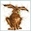 Hare Brained (Counted Cross Stitch Kit)