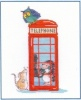 London Calling (Counted Cross Stitch kit)