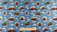 Fabric by the Metre - 2714 - Light Blue