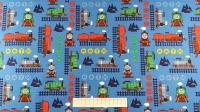 Fabric by the Metre - 2714 - Dark Blue