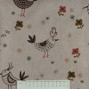 Cotton Blend Canvas by the Metre - Bird - 04