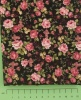Fabric by the Metre - 114 Flowers - Black